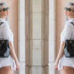 Tarbay Heels & A White Shirtdress – A Casual Summer Look