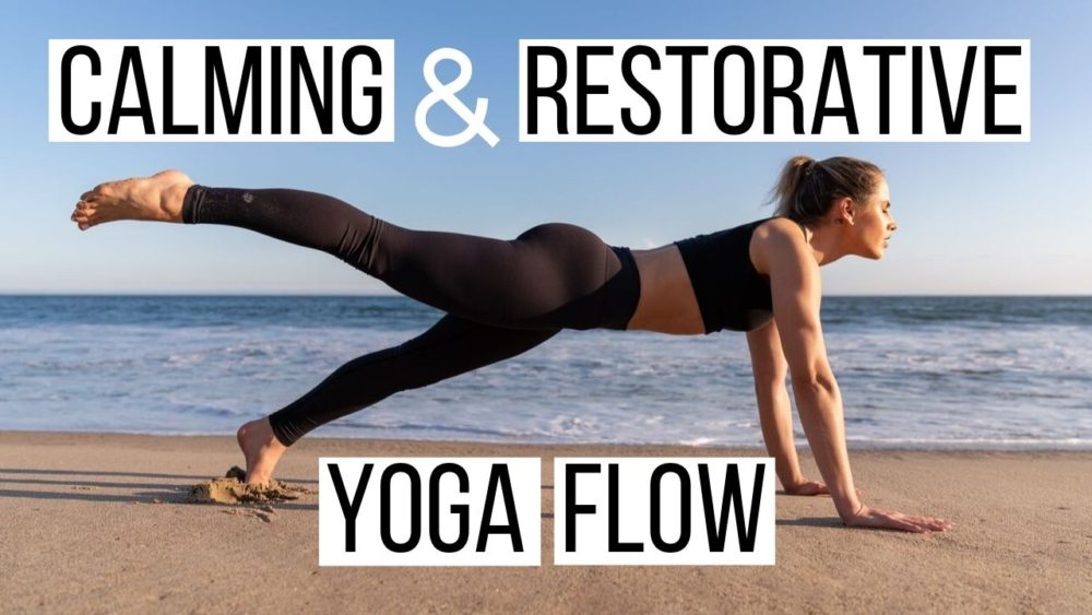 No Pants Yoga – Stretch Shoulders, Open Hips, & Release Back Tension (SO GOOD!)